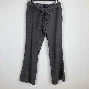 Banana Republic Petite Wide Leg Pants Linen
